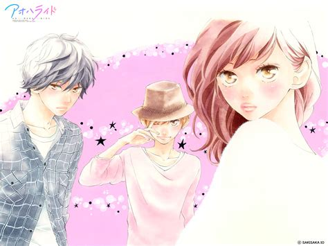 ao haru ride kou futaba and touma ao haru ride photo 33033463 fanpop