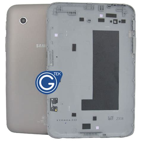 Samsung P3110 samsung p3110 back cover with side button grey p3110 galaxy tab 2 7 0 galaxy tab series