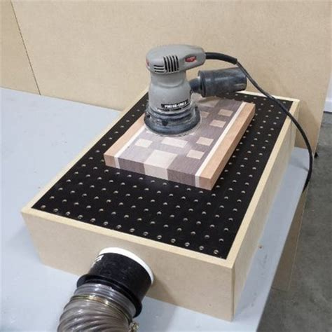 downdraft sanding table box by fixthisbuildthat