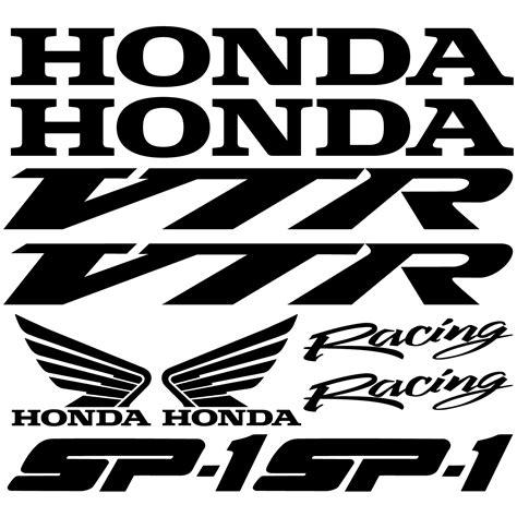 Honda Vtr Aufkleber wandtattoos folies honda vtr sp1 aufkleber set