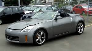 2008 Nissan 350z Convertible 2008 Nissan 350z Roadster Grey Fish Creek Nissan