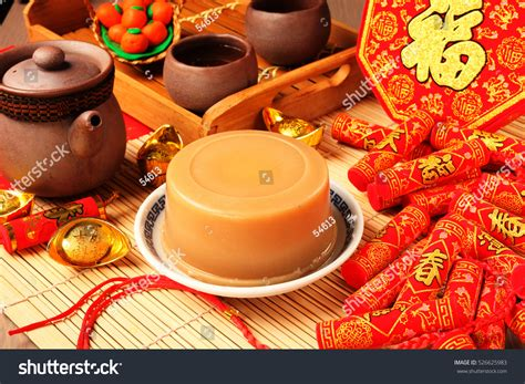 new year dishes traditional chinas traditional new years dishes rice stock photo