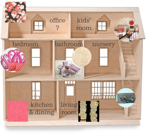 plans for a doll house the dollhouse floor plan making it lovely