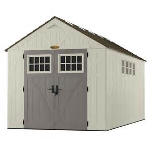 Shed Windows Suncast Tremont 8x16 Storage Shed With Windows Bms8165