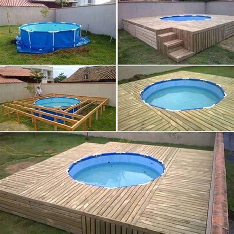 piscine fuori terra rivestite in legno piscine da giardino fuori terra pro contro
