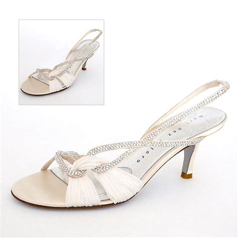 Wedding Shoes With Low Heel by Low Heel Wedding Shoes With Crystals Ipunya