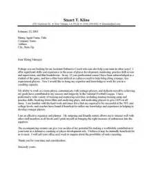 Coach Cover Letters by Exle Resume Exle Cover Letter Coaching
