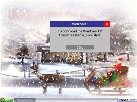 christmas themes for win xp windows xp christmas theme