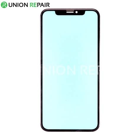 replacement  iphone xr front glass lens black