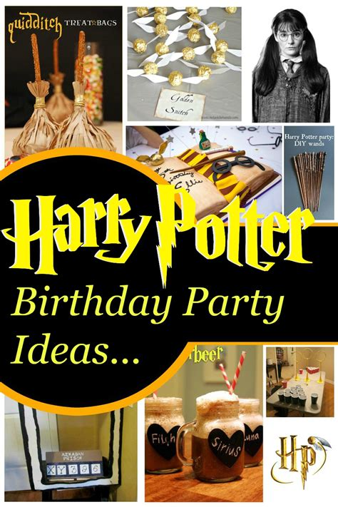 Inspi Ional  Ee  Harry Potter Birthday Party Ideas Ee
