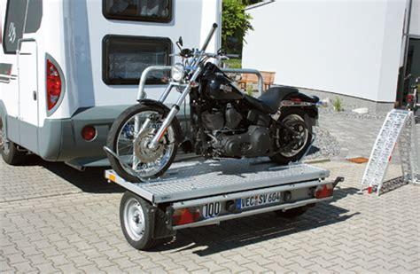Motorrad Transport Im Wohnmobil by Transport Sawiko 187 Wheely 171 Tourenfahrer