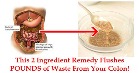 Should You Cleanse And Detox Your Colon by By Mixing These 2 Ingredients You Can Flush Pounds Of