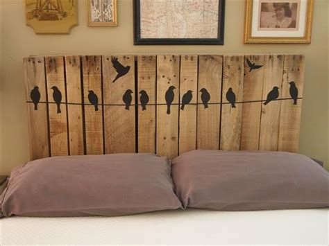 Pallet Furniture Headboard by Diy Pallet Headboards Project Pallet Furniture Diy