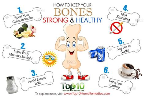 8 Tips To Make Your Bones Stronger by How To Keep Your Bones Strong And Healthy Top 10 Home