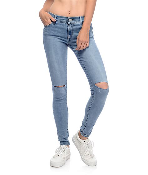 womens light wash levi jeans destroyed levi jeans jeans to