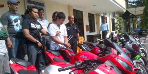 Alarm Motor Di Semarang anggota tni ad di semarang jadi penadah motor sport curian