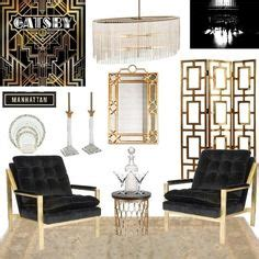 the great gatsby home decor search mood board