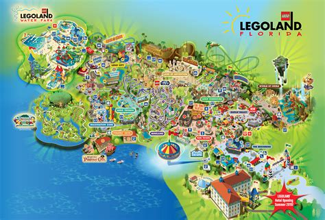 legoland map legoland florida
