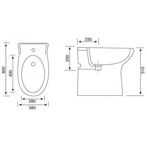 vaso per disabili vaso e bidet per anziani o disabili completo di sedile