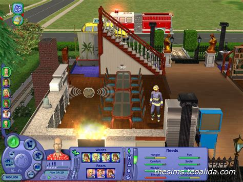 house of fun fan page fun with fire the sims fan page