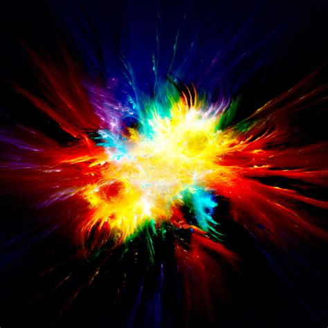 colorful explosion wallpaper color explosion by luisbc on deviantart