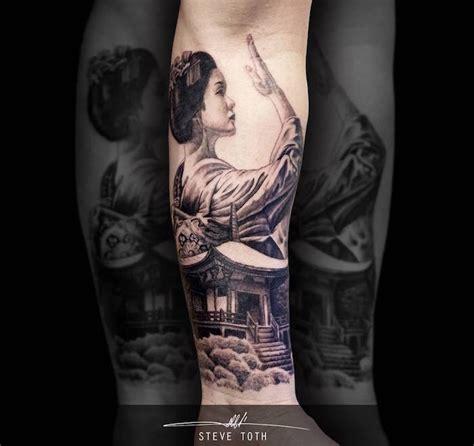 geisha house tattoo 1001 id 233 es tatouage geisha plaisir et tradition en 40