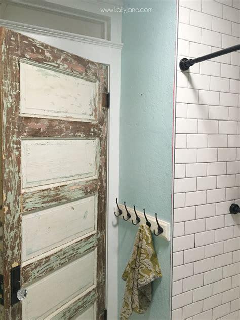 easy  install peel  stick shiplap bathroom wall treatment lolly jane