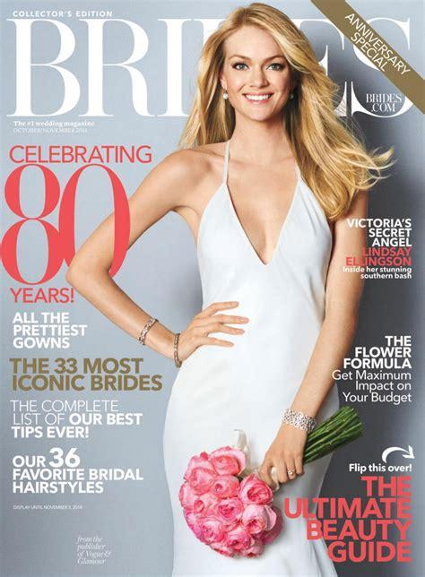Brides Magazine by Lindsay Ellingson Brides Magazine October November 2014