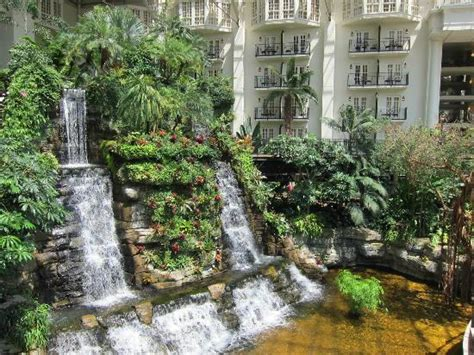 shooting fountains in the cascades picture of opryland