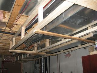 how to frame around ductwork in a basement basement project march 27 28 ductwork framing started
