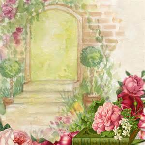 flower garden pictures free background watercolor garden flower free stock photo