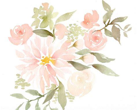 best 25 watercolor flowers ideas on