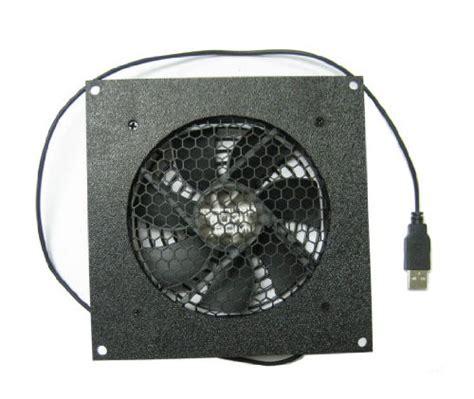 120mm usb fan coolerguys 120mm usb fan with cabinet mounting bracket