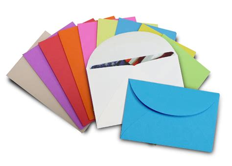 Gift Card Cards And Envelopes - neon gift card envelopes multipack 100 pack