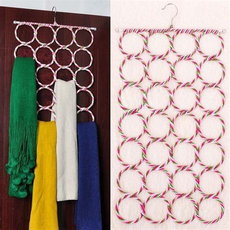 Rumah Tangga Gantungan Jilbab Syal Belt 28 Gantungan Jilbab L8 2 hanger jilbab bulat gantungan jilbab anti kusut harga jual