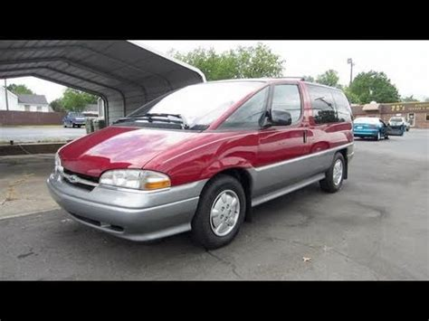 how to learn about cars 1996 chevrolet lumina electronic throttle control 1996 chevrolet lumina apv start up engine and in depth tour youtube
