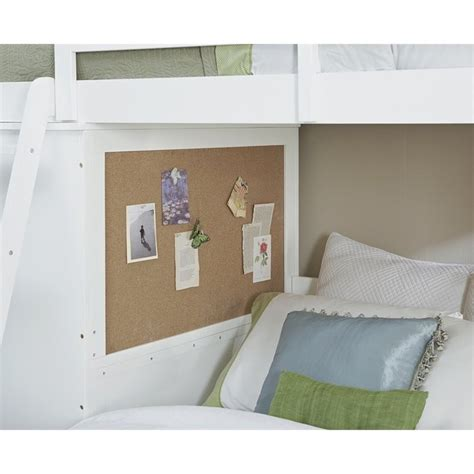 ne kids walnut street white locker loft bedroom set on ne kids walnut street locker loft bed with full lower bed