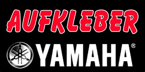 Yamaha Bootsmotoren Aufkleber yamaha aufkleber aussenborder