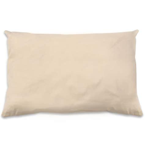 organic cotton kapok standard pillow by naturepedic
