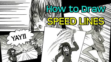 how to draw doodle lines how to draw speed lines 4 different ways for