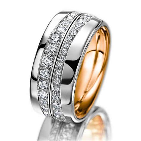meister ring girello white gold rose gold platimun
