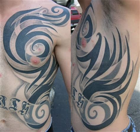 reos tattoo rea reo rib cage tribal tattoos for 01