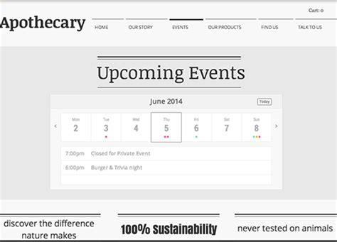 Calendar Shopify Events Calendar Ecommerce Plugins For Stores