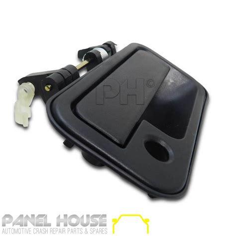 black holden rodeo door handle black front outer rh drivers side for holden