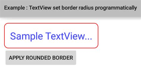 android textview layout width programmatically how to create rounded corners textview in android