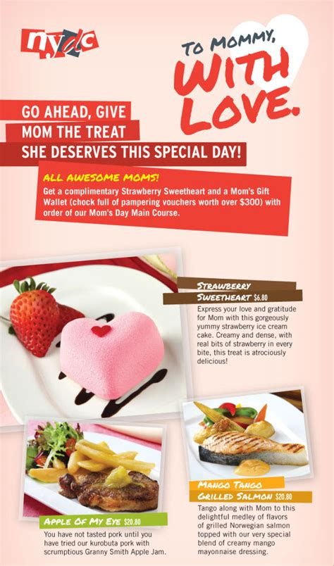 Come With Me Mothers Day Menu Part 1 by Singaporesupermarketrecipes Part 42