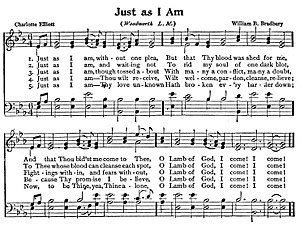 Just As I Am just as i am hymn