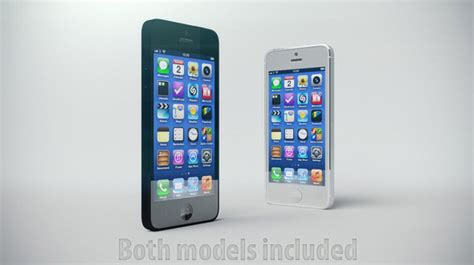 Iphone5 3d Kisd 10 realistic free and premium iphone 5 3d models
