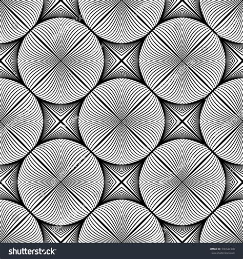 ellipse vector pattern design seamless monochrome ellipse pattern abstract lines