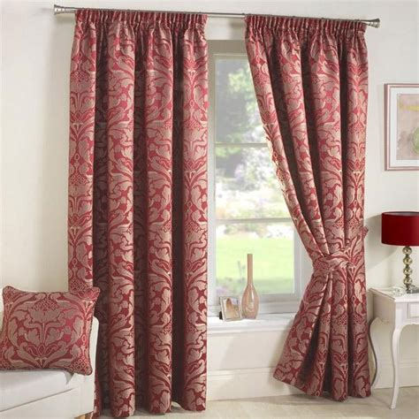 red curtain tie backs 78 curtain tie backs to take inspiration from patterns hub